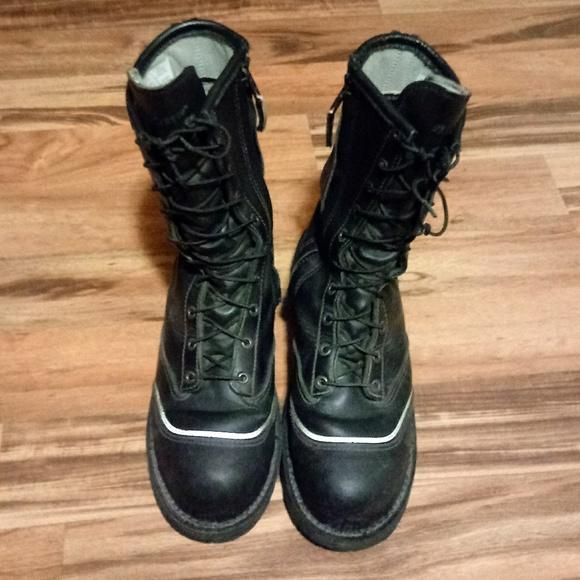 8fe465fa635 LaCrosse Maltese FireTech Leather Boots